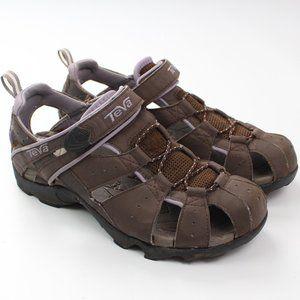 Teva Deacon Mermaid brown purple sandal water shoe